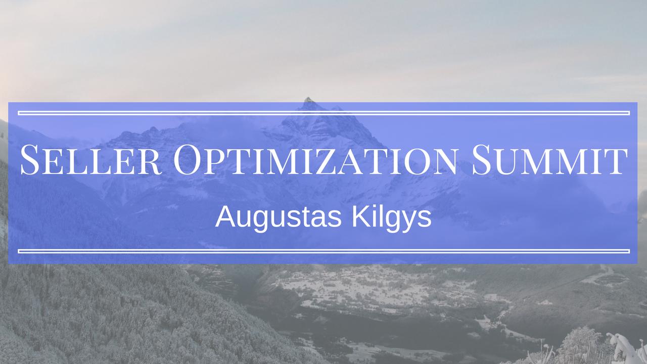 Seller Optimization Summit